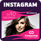 Hair & Beauty Salon Instagram Template