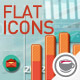 Flat Animated Icons Business Infographics