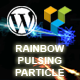 Rainbow Pulsing Particle