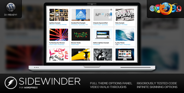 SideWinder for WordPress - Dynamic Grid Portfolio