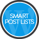 Smart Post Lists Widget for WordPress