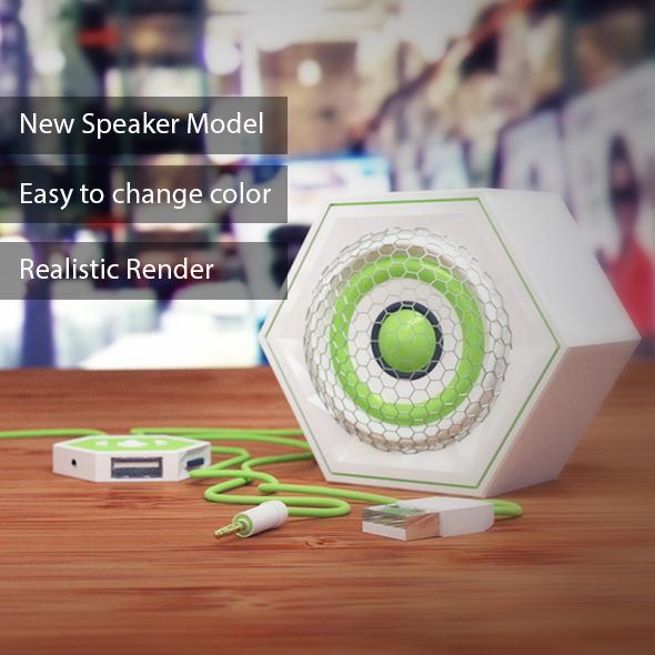 New Speaker Model - 3DOcean Item for Sale