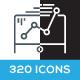 320 Business / Seo / Marketing Icons
