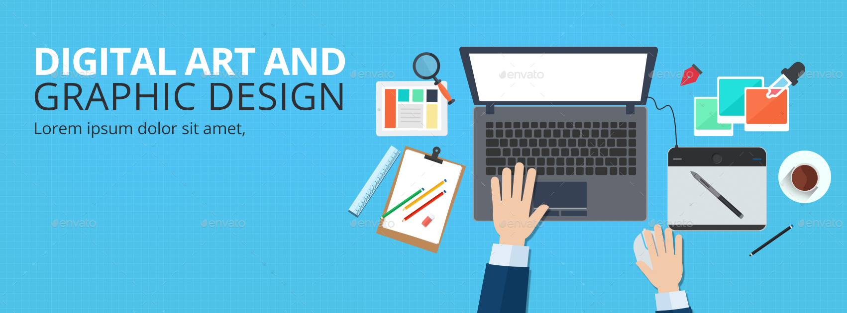 Web & Graphic Design Facebook Cover by doto | GraphicRiver