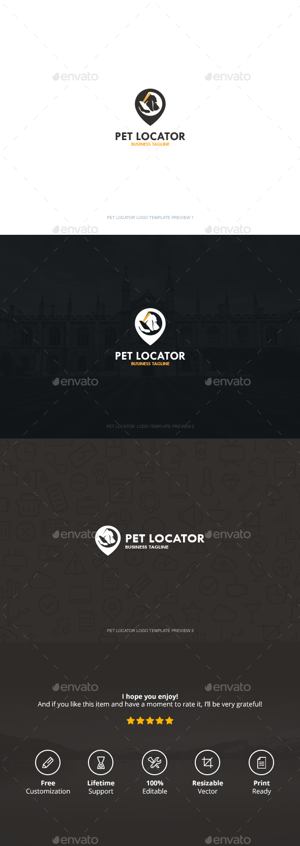 Pet Locator Logo