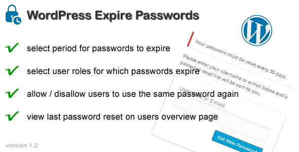 Download WordPress Expire Passwords nulled download