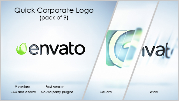 Quick logo reveal pack videohive