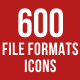 File Formats Icons