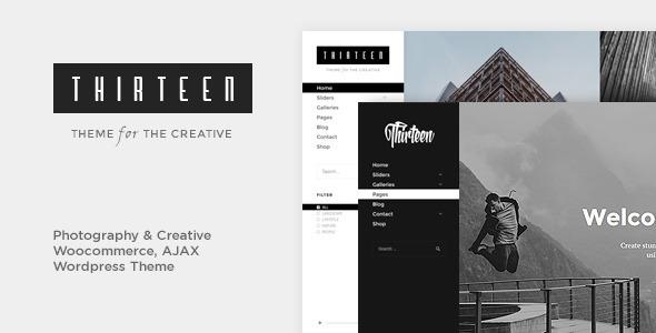 Thirteen | Photography & Creative WordPress Theme