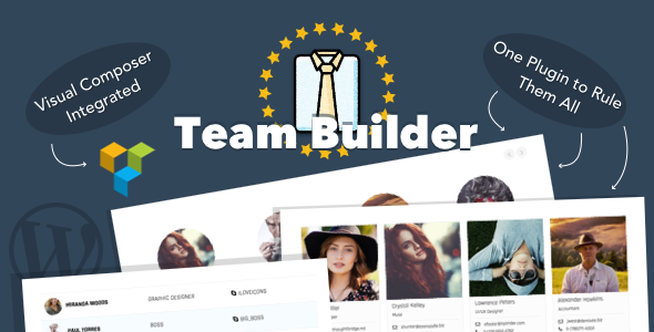 Team Builder — Meet The Team WordPress Plugin