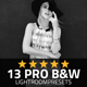 13 Pro Black&White Lightroom Presets
