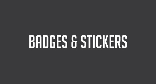 Badges and Stickers