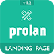 Prolan - Multipurpose Bootstrap Landing Page