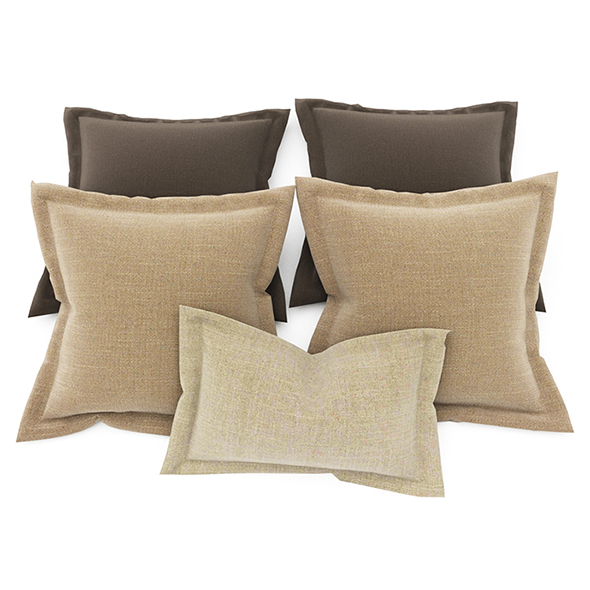 Pillows color 90 - 3DOcean Item for Sale