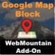 Google Map Block for WebMountain