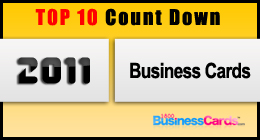 TOP 10 Count Down | 2011 BUSINESS CARD