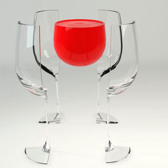 broken glass - 3DOcean Item for Sale