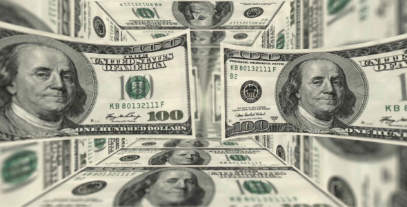 Dollar Bills Backgrounds - 2