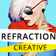 Refraction — Unique & Creative PSD Theme