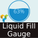 Liquid Fill Gauge - Visual Composer Ready