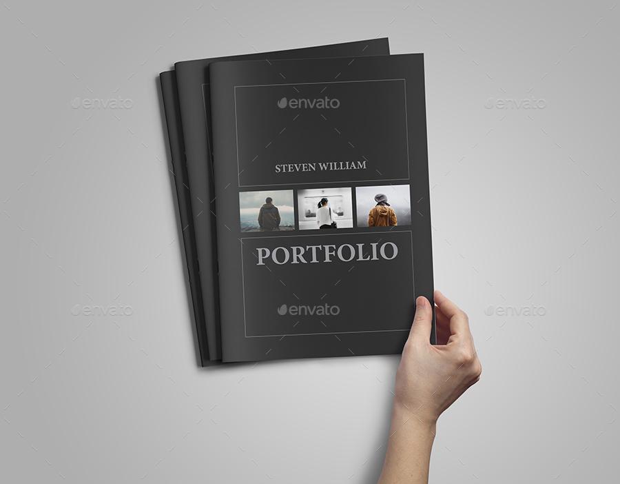 Photographer Portfolio / Photo Album by vanroem | GraphicRiver