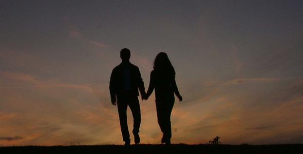 Walking Hand in Hand