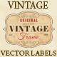 Vintage Grunge Labels