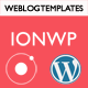 IonWp - Ionic Phonegap/Cordova WordPress App