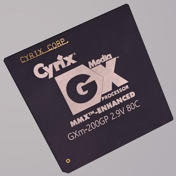 MediaGX GXm-200GP Processor - 3DOcean Item for Sale