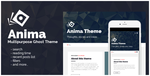 Anima: Multipurpose Ghost Theme