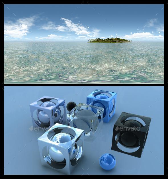 Tropical Island - HDRI - 3DOcean Item for Sale