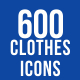 Clothes & Fashion Icons