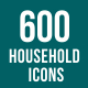 Household Objects Icons