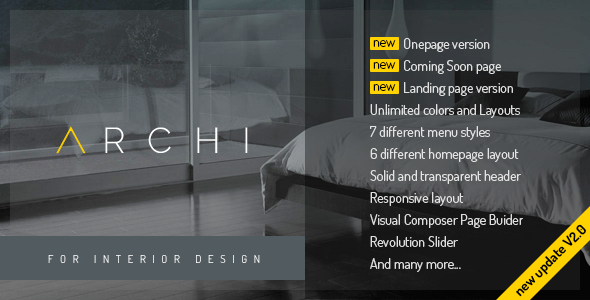 Download Archi - Interior Design WordPress Theme nulled download