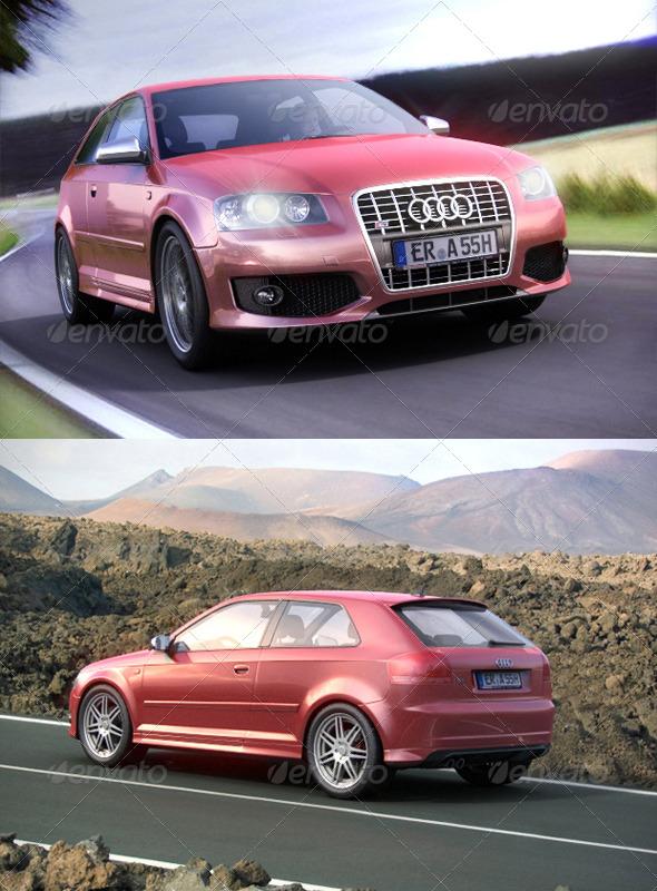 Audi S3 Interior. Audi S3 8P 2003-2009 - 3DOcean