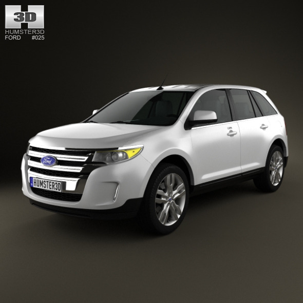 3DOcean Ford Edge 2012 1346487