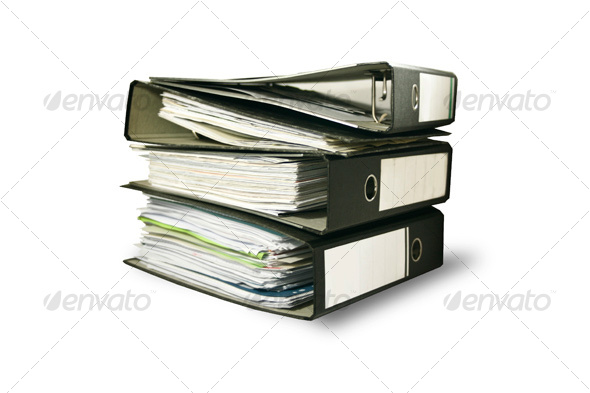 Business File Folders