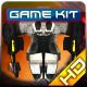 Spaceship Enemy Sprites Pack 002
