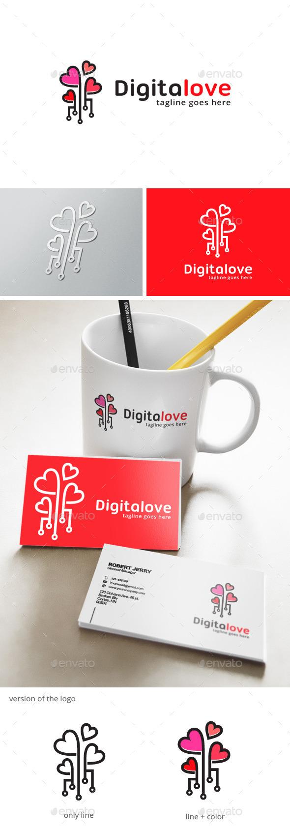 Digital Love Logo