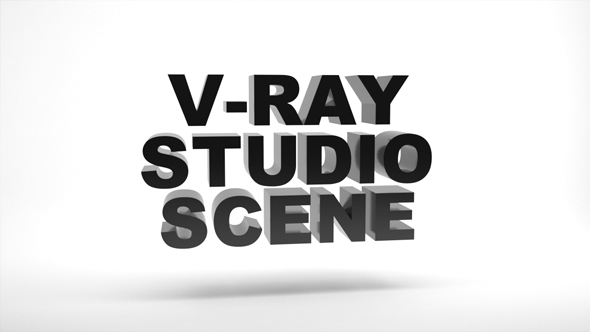 Empty Vray Studio Setup - 3DOcean Item for Sale