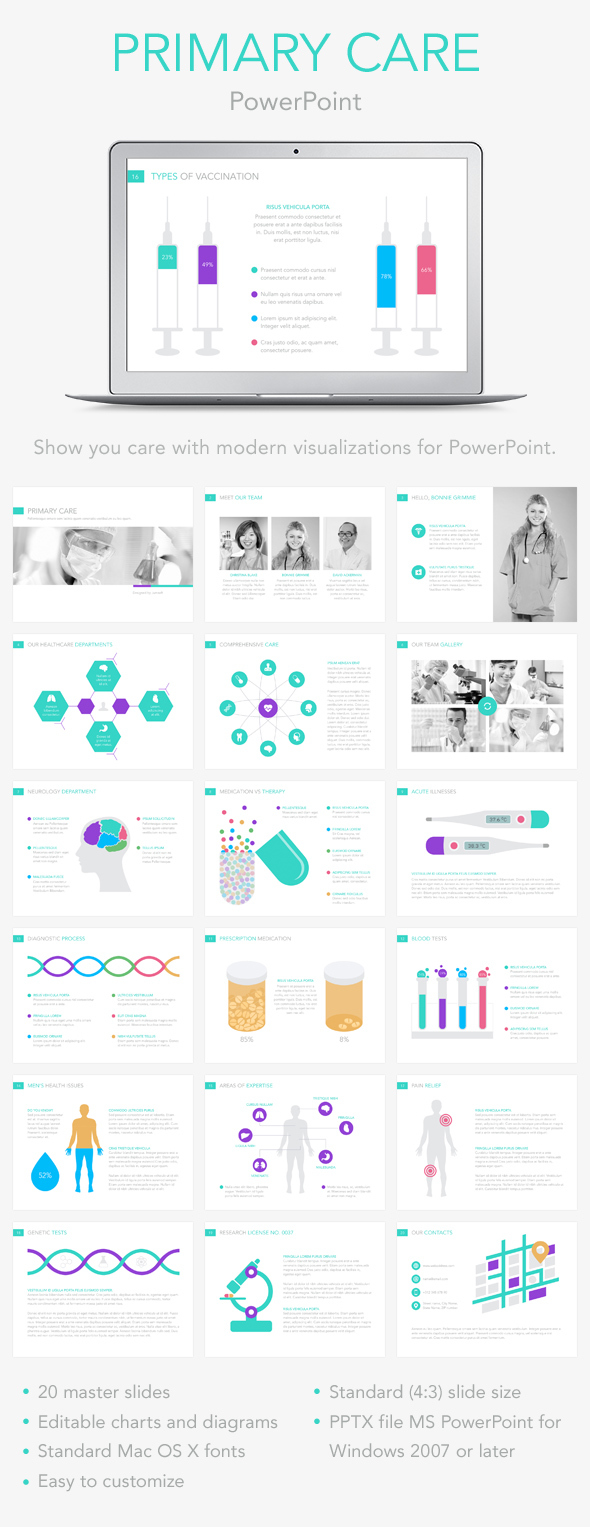 Primary Care PowerPoint Template (PowerPoint Templates)
