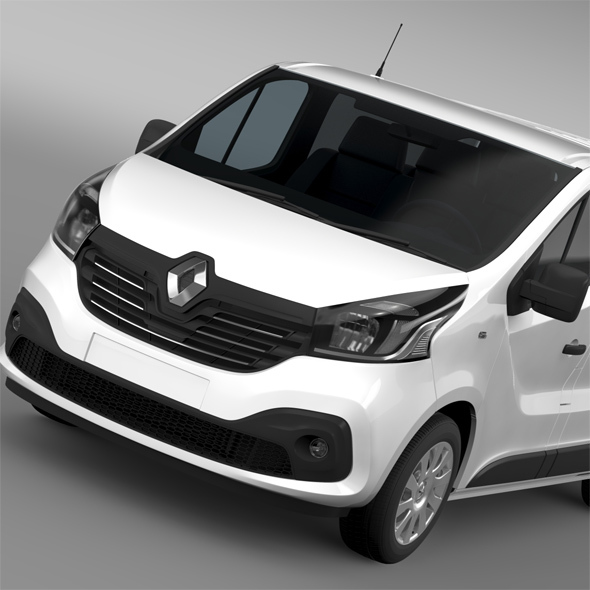 Renault Trafic Van 2015 - 3DOcean Item for Sale
