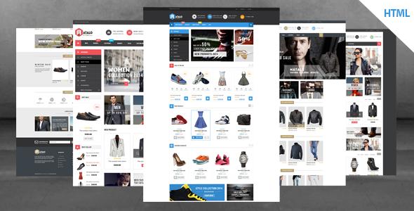 Matalo - Responsive eCommerce HTML5 Template