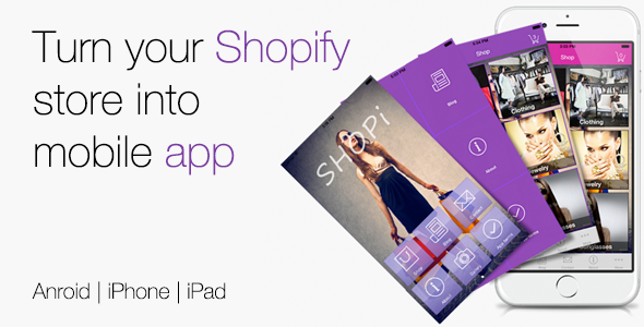 Shopi - Shopify Mobile App
