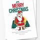 Greeting Card Template Christmas