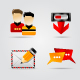 Melo Icon set. Website and Internet icon #5 - GraphicRiver Item for Sale