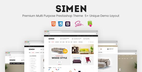 SNS Simen - Responsive Prestashop Theme