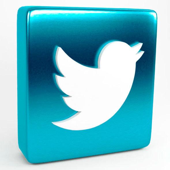 logo twitter - 3DOcean Item for Sale