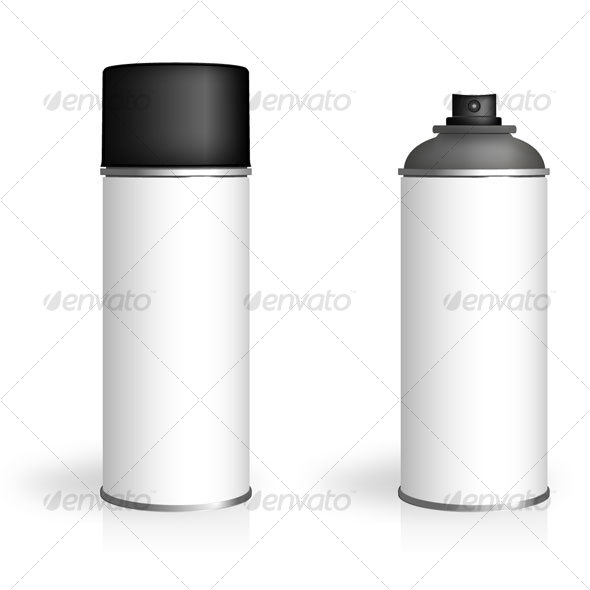 Aerosol Spray Can - Man-made objects Objects