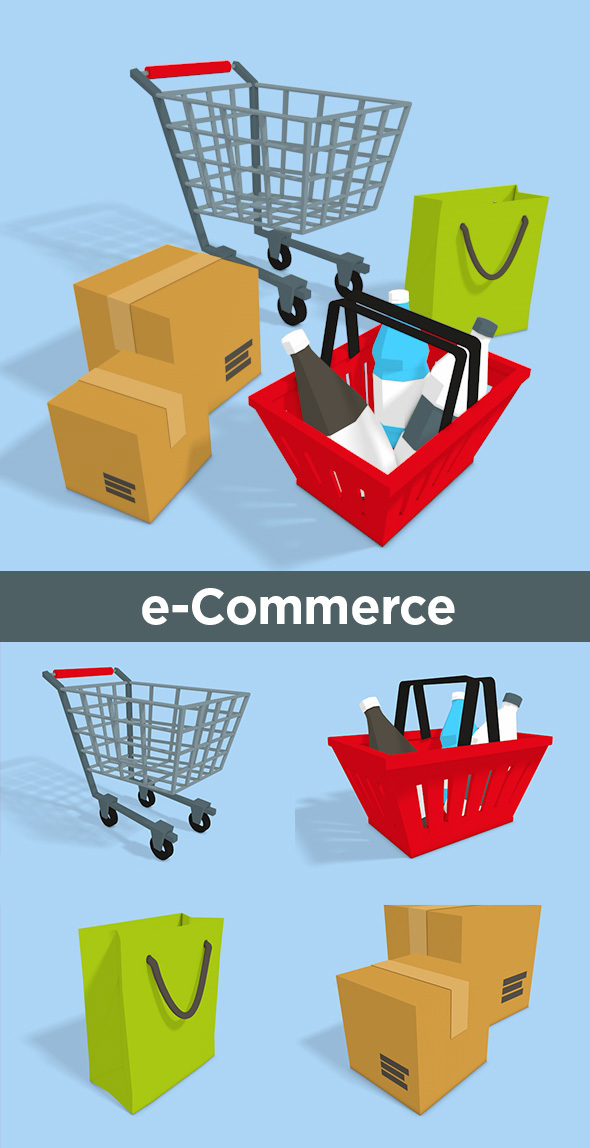 3D e-Commerce - 3DOcean Item for Sale
